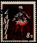 Stamps of the world : Zambia :  Traje tipico
