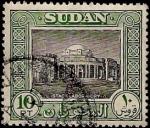 Stamps Africa - Sudan -  Palacio