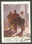 Stamps Russia -  4643 - La mañana de un día de trabajo