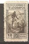 Stamps : Europe : Spain :  COLEGIO DE HUERFANOS