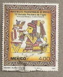 Stamps of the world : Mexico :  Personajes Prehispánicos