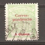 Stamps : Europe : Spain :  SELLO PROVINCIAL