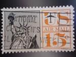 Sellos de America - Estados Unidos -  LIBERTY  FOR ALL..