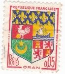 Sellos de Europa - Francia -  Escudo Heráldico de ORAN