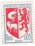 Stamps France -  Escudo Heráldico de AUCH