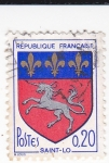 Stamps : Europe : France :  Escudo Heráldico de SAINT-LO