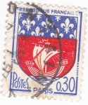 Stamps : Europe : France :  Escudo Heráldico de  PARÍS