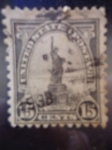 Stamps United States -  Statue of Liberty (1875)