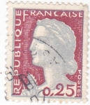 Stamps : Europe : France :  Marianne de Decaris