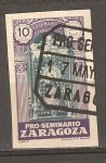 Stamps : Europe : Spain :  PRO SEMINARIO ZARAGOZA
