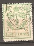 Stamps : Europe : Spain :  CAJA POSTAL DE AHORROS
