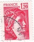 Sellos de Europa - Francia -  Sabine