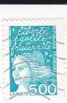 Stamps France -  Liberte, igalite y fraternité -Marianne