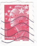 Stamps France -  Marianne