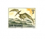 Stamps Europe - San Marino -  Fauna Prehistorica