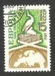Stamps Russia -  5639 - Europa nuestra nación común, nido de cigüeña