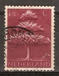 Sellos de Europa - Holanda -  Viejos símbolos germánicos (Triple árbol coronado).