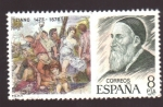 Stamps Europe - Spain -  tiziano 1477-1576