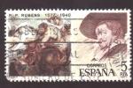 Stamps Spain -  p. p. rubens 1577-1640