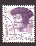 Stamps Spain -  Juan de Juni 1507-1577