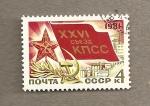 Stamps Russia -  26th Aniv Comité Veteranos Guerra