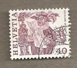 Stamps Europe - Switzerland -  Pregonero