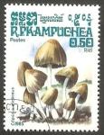 Stamps : Asia : Cambodia :  Kampuchea - Champiñón