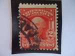 Stamps United States -  George Washington (1732-1799), first president of the U.S.A