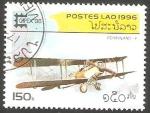 Sellos de Asia - Laos -  Avión