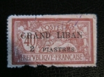 Stamps Lebanon -  Grand Liban- Ocupacion Francesa