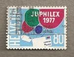Sellos de Europa - Suiza -  Juphilex 1977