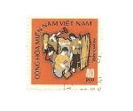 Sellos de Asia - Vietnam -  Cong Hoa mien nam(Rep. de Vietnam del Sur)