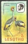 Stamps Africa - Lesotho -   521 - Avebalearica regulorum