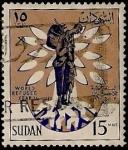 Sellos del Mundo : Africa : Sudán : Año Mundial del Refugiado