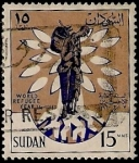 Stamps Africa - Sudan -  Año Mundial del Refugiado