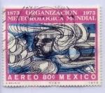 Stamps Mexico -  ORGANIZACION METEOROLOGICA MUNDIAL