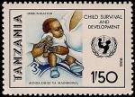 Sellos del Mundo : Africa : Tanzania : Campaña de vacunación