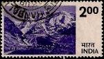 Stamps India -  Paisajes