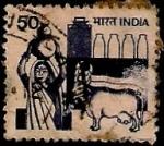 Stamps India -  Agricultura y evolución rural