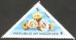 Stamps : Asia : Maldives :  533 - Fauna marina
