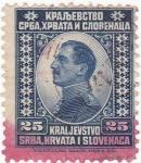 Sellos de Europa - Serbia -  Reino de Serbia,Croacia y Eslovenia