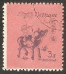 Stamps : Asia : Vietnam :  568 - Año Nuevo, Año de Búfalo