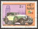 Stamps Vietnam -  625 - Vehículo Isotta Fraschini de 1928