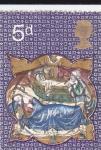 Stamps : Europe : United_Kingdom :  Imagenes navideñas