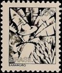 Sellos de America - Brasil -  Bananero