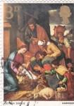 Stamps : Europe : United_Kingdom :  Adoración al Niño Jesus