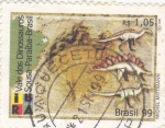 Stamps of the world : Brazil :  Valle de los Dinosaurios