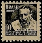Stamps Brazil -  Padre Bento