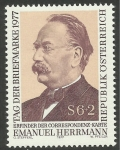 Sellos de Europa - Austria -  1392 - Emanuel Herrmann, inventor