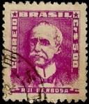 Stamps Brazil -  Rui Barbosa